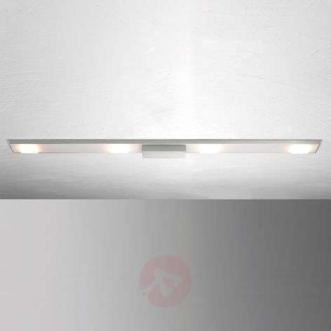 Lámpara de techo LED Slight de 4 luces, aluminio