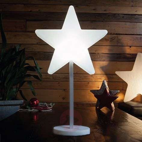 Lámpara decorativa LED Shining Window Star-1004095-31
