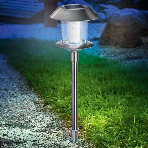 Lámpara LED de acero inoxidable Swing Duo Solar-3012004-31
