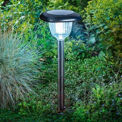 Lámpara LED solar Classic Light, función Duo Color