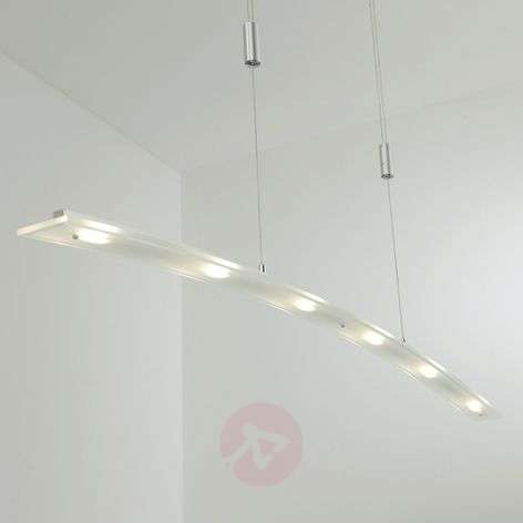 Lámpara LED suspendida Juna intens. regul., 116 cm