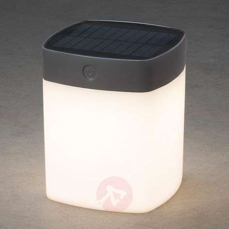 Lámpara solar de mesa Assisi con LED, atenuable