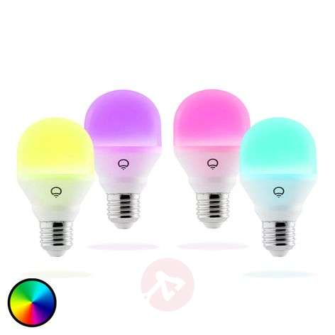 LIFX Mini Color bombilla LED E27 9W, 4 uds.