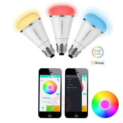 MiPow Playbulb Rainbow+ 3 x LED RGB E27 10W
