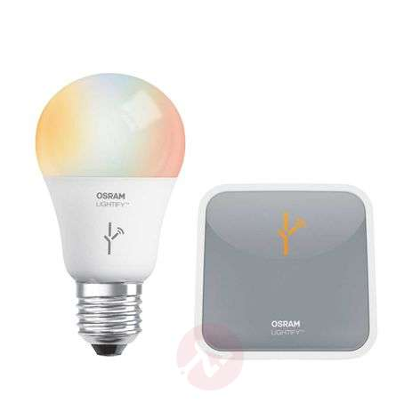 OSRAM LIGHTIFY Starter KIT E27 10W incl. Gateway