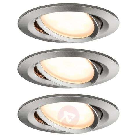Paulmann Bluetooth Coin foco LED, set de 3, 6 W