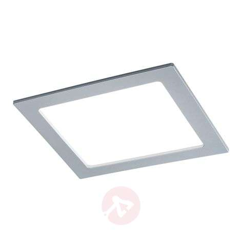 Paulmann panel LED empotrado angular, 18W, cromo