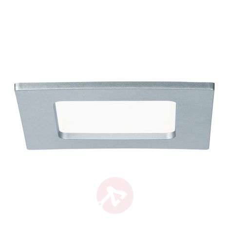 Paulmann panel LED empotrado angular, 6W, cromo