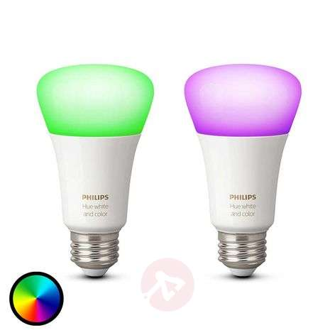 Philips Hue 2x 10W E27 White + Color Ambiance-7532035-31