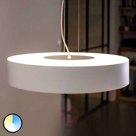 Philips Hue White Ambiance Fair colgante blanco