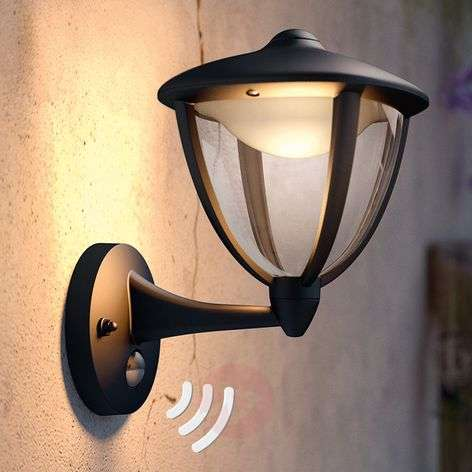 Philips Robin aplique LED de exterior, arriba