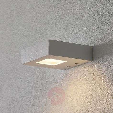 Reflector de pared LED Cubus en color blanco