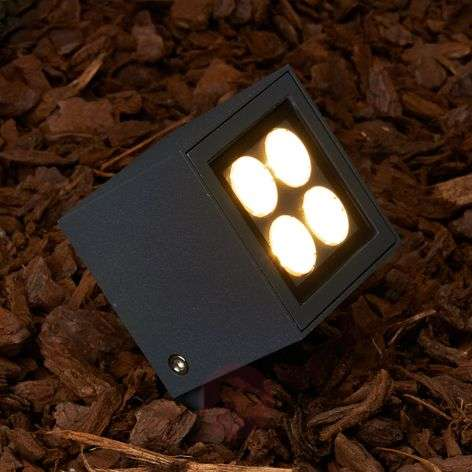Reflector LED con estaca Charlie exteriores, IP65