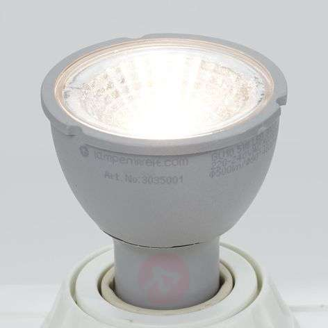 Reflector LED GU10 5 W 3000 K, atenuable 3 niveles
