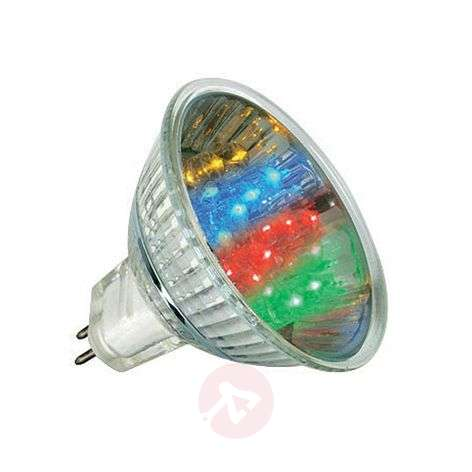 Reflector LED GU5.3 MR16 1W multicolor