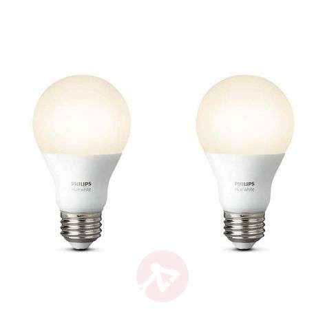 Set de 2 uds. Philips Hue White 9,5 W E27