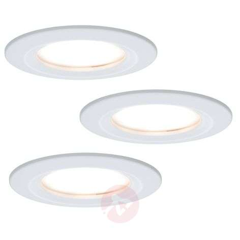Compra Set De 3 Focos Led Empotrables Coin Slim Ip44 Lampara Es