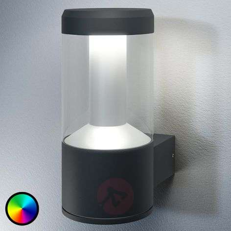 SMART + aplique para exterior Modern Lantern LED