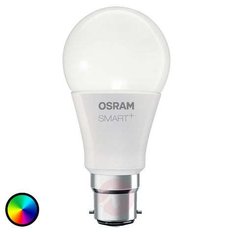 SMART+ LED B22 10W, RGBW, 800 lm, atenuable