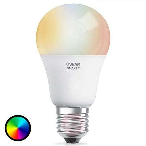 SMART+ LED E27 10W, RGBW, 800 lm, Apple HomeKit