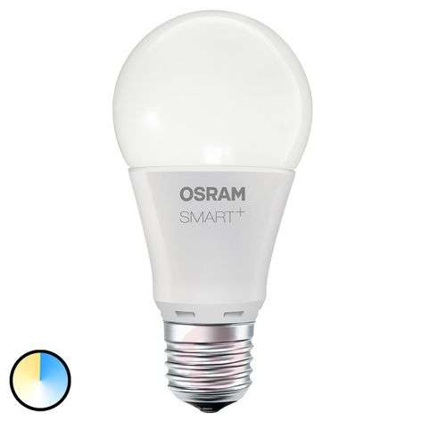 SMART+ LED E27 8,5W, Tuneable white, 800 lm