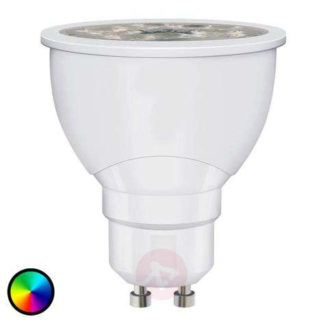 SMART+ LED GU10 6W, RGBW, 300 lm, atenuable