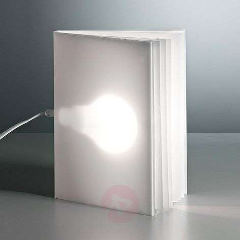 TECNOLUMEN BookLight lámpara de mesa de V. Warnke