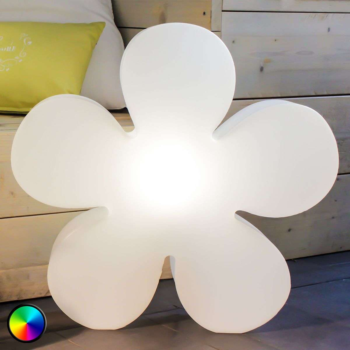 Atractiva flor luminosa LED Shining Flower Mini-1004085-33