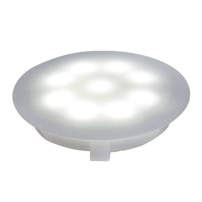 Downlight LED policarbonato 6.500 K satin. 1x1 W-7600509-31