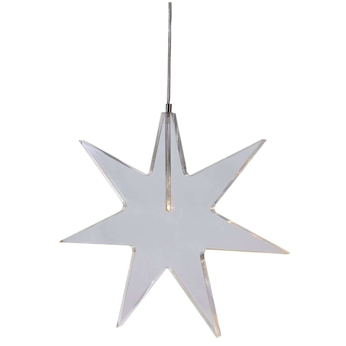 Estrella LED transparente lámpara decorativa Karla-1522505-31
