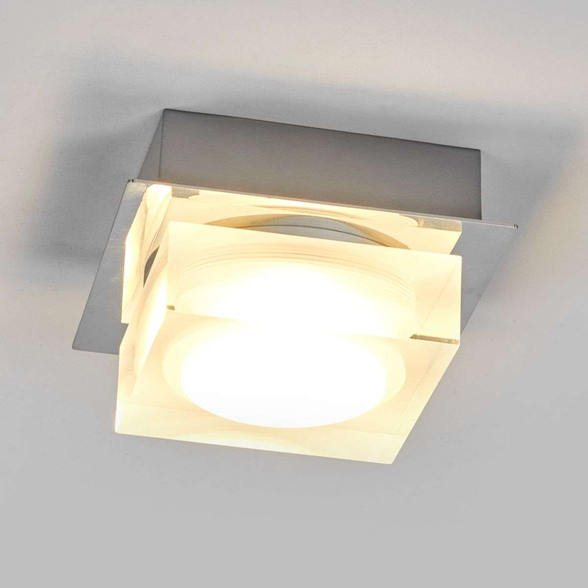 Compra l mpara led de techo birte decorativa para ba os for Lamparas para bano techo