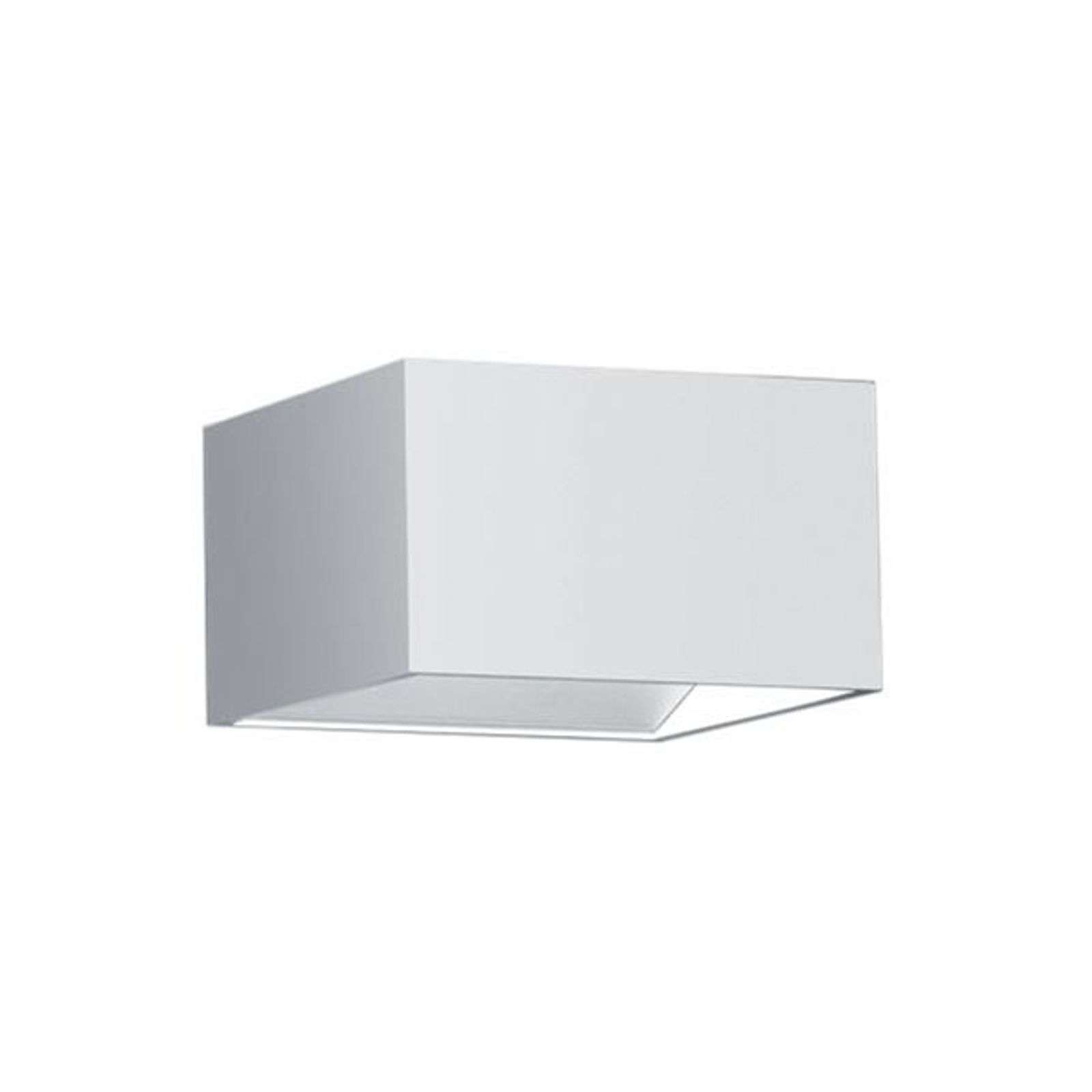 Aplique LED Cube luz directa e indirecta, blanco