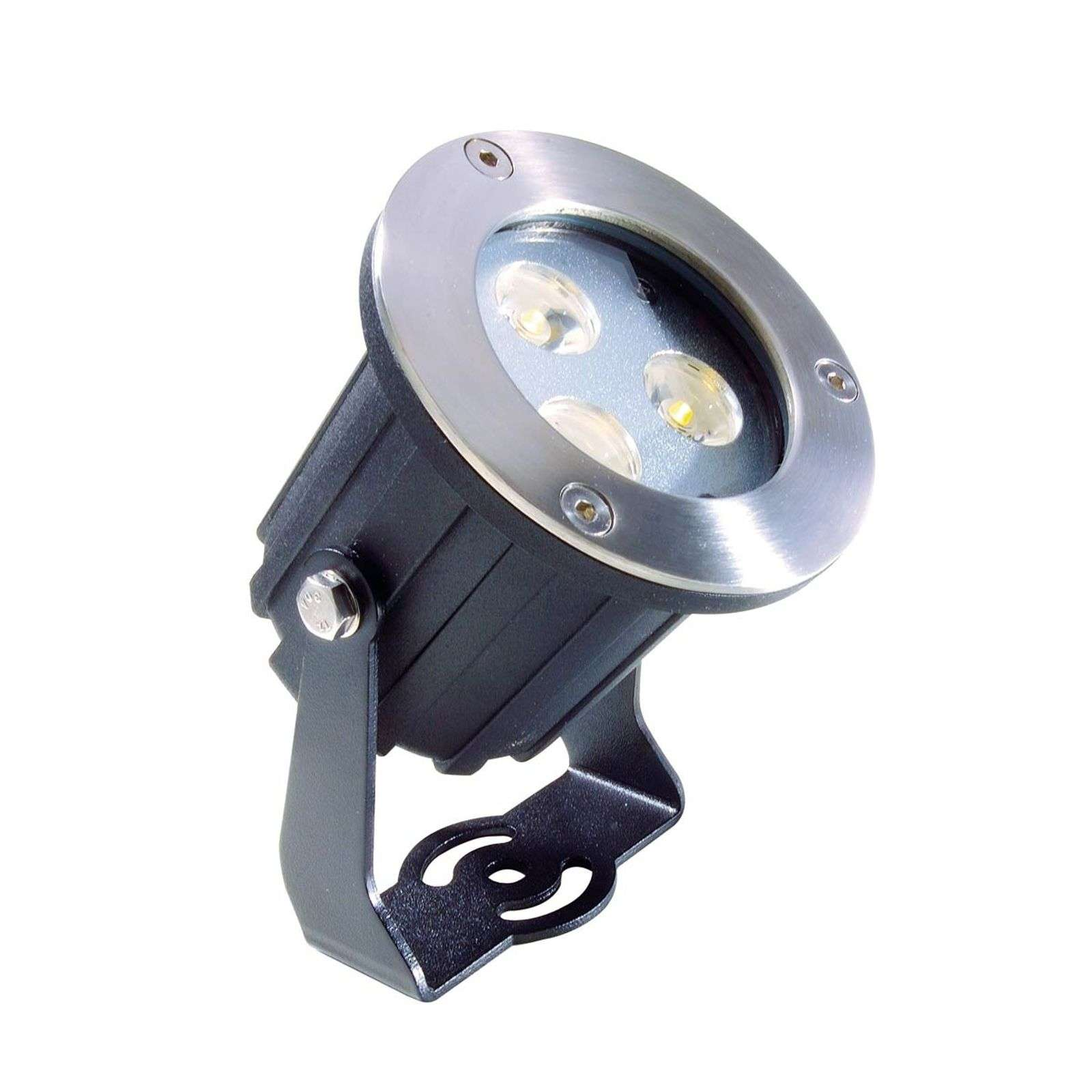 Funcional foco exterior LED Power blanco cálido