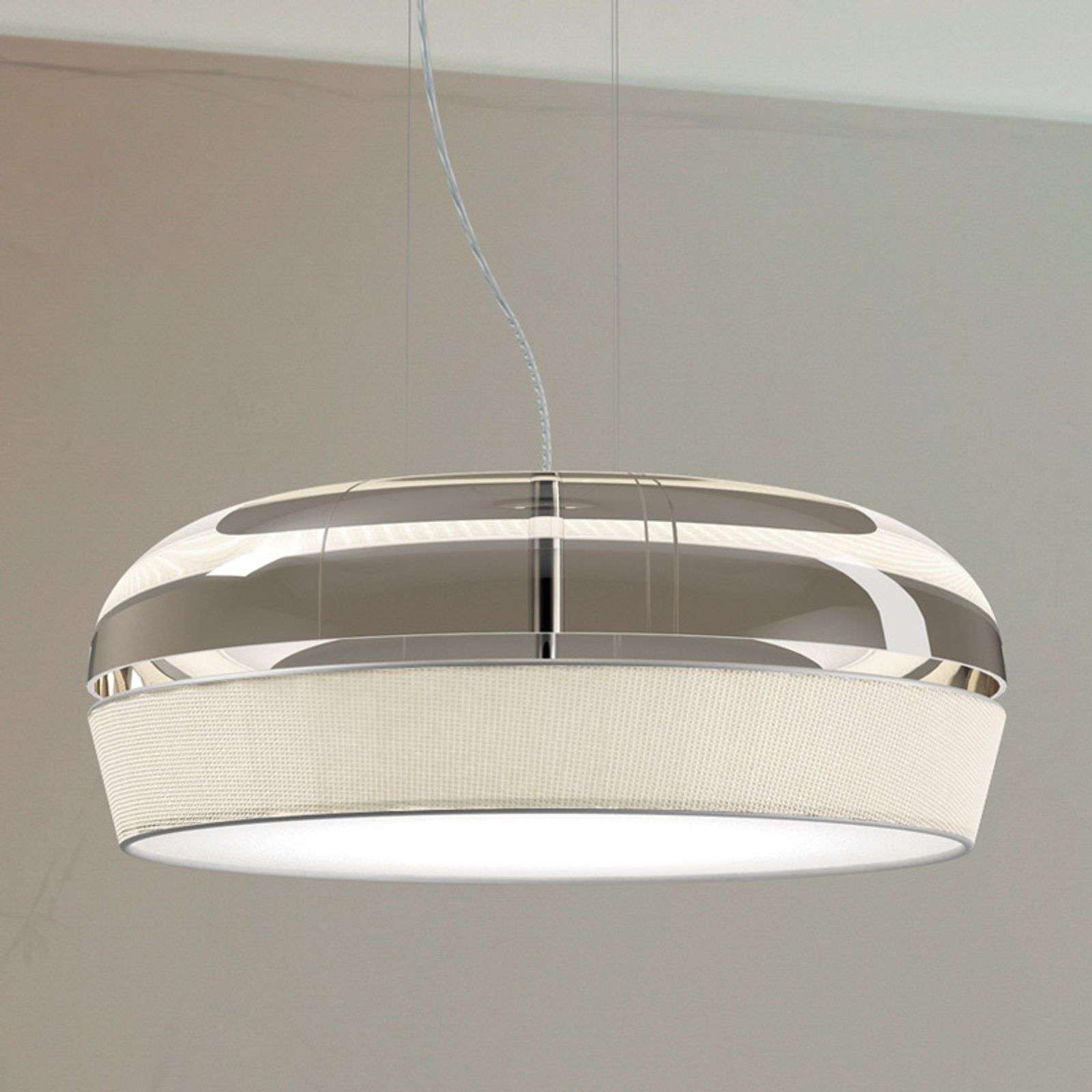 Elegante lámpara colgante LED Dome S50