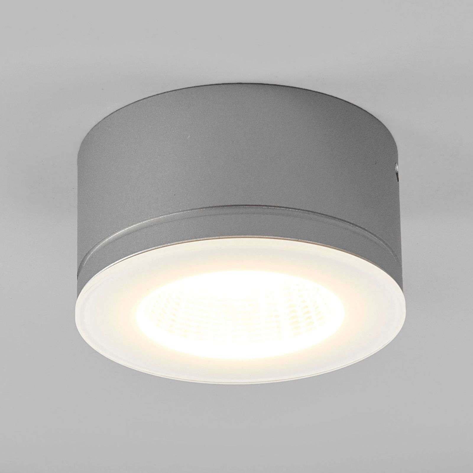 Gris foco de techo LED Newton - IP54