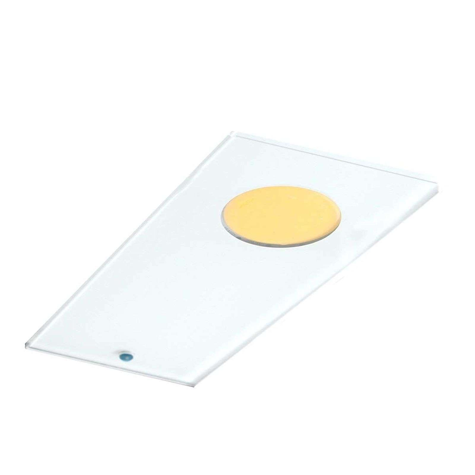 Aplique de encastre LED decorativo Sun 1, 3 uds.