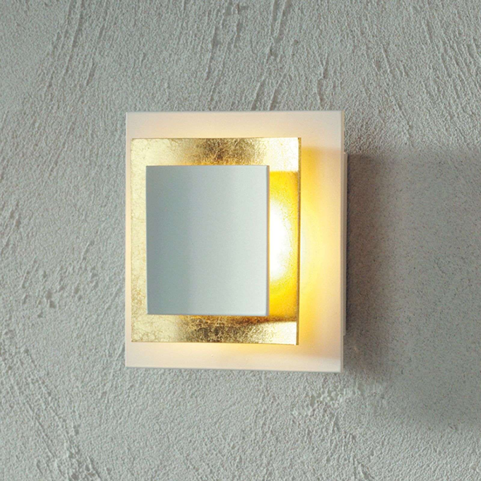 Escale Pages - aplique LED en pan de oro 14 cm