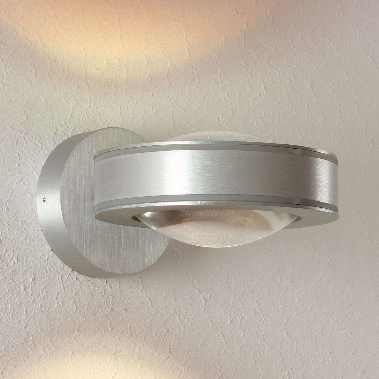 Escale Vio - foco de pared LED atenuable, aluminio