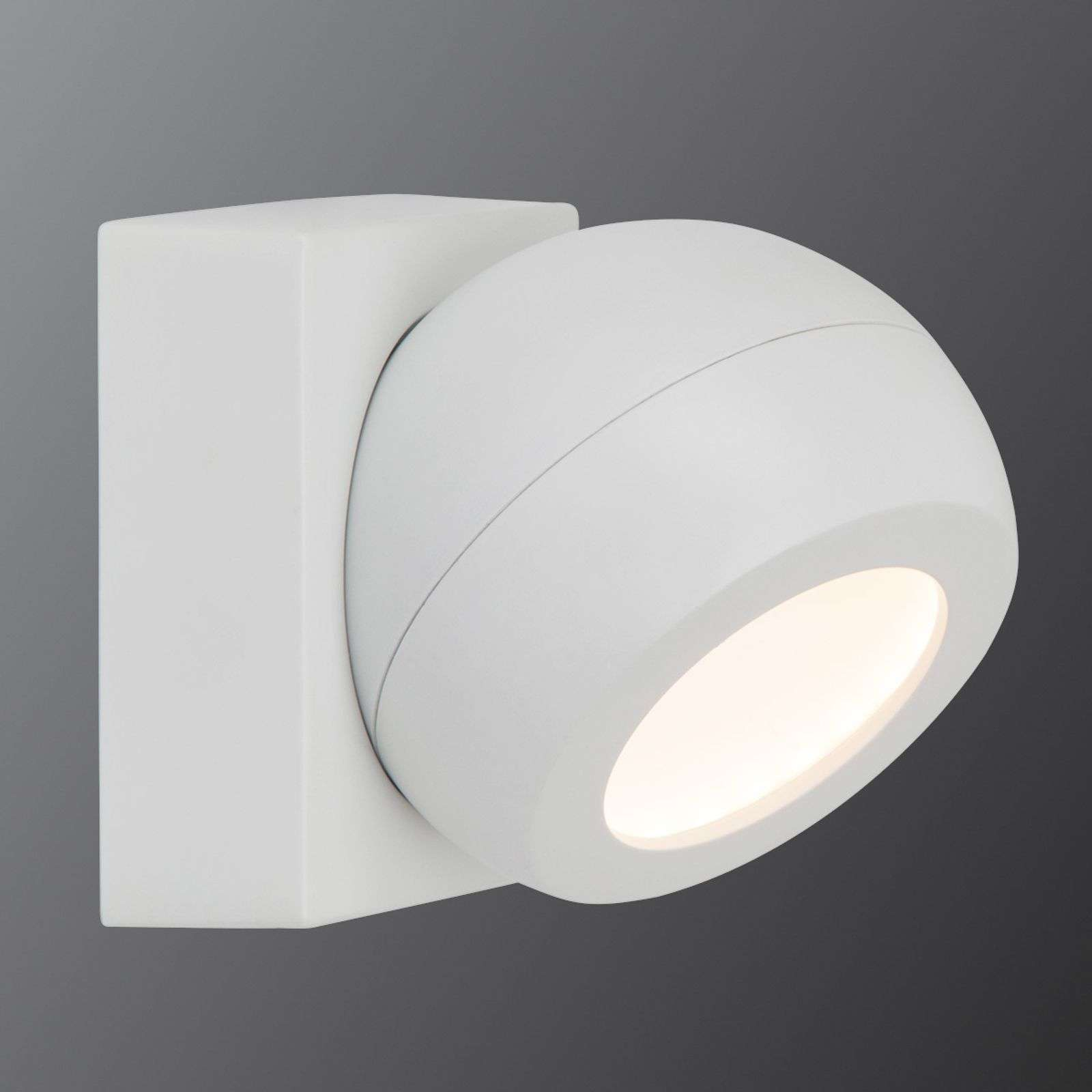 Foco de pared LED Balleo de AEG, atenuable