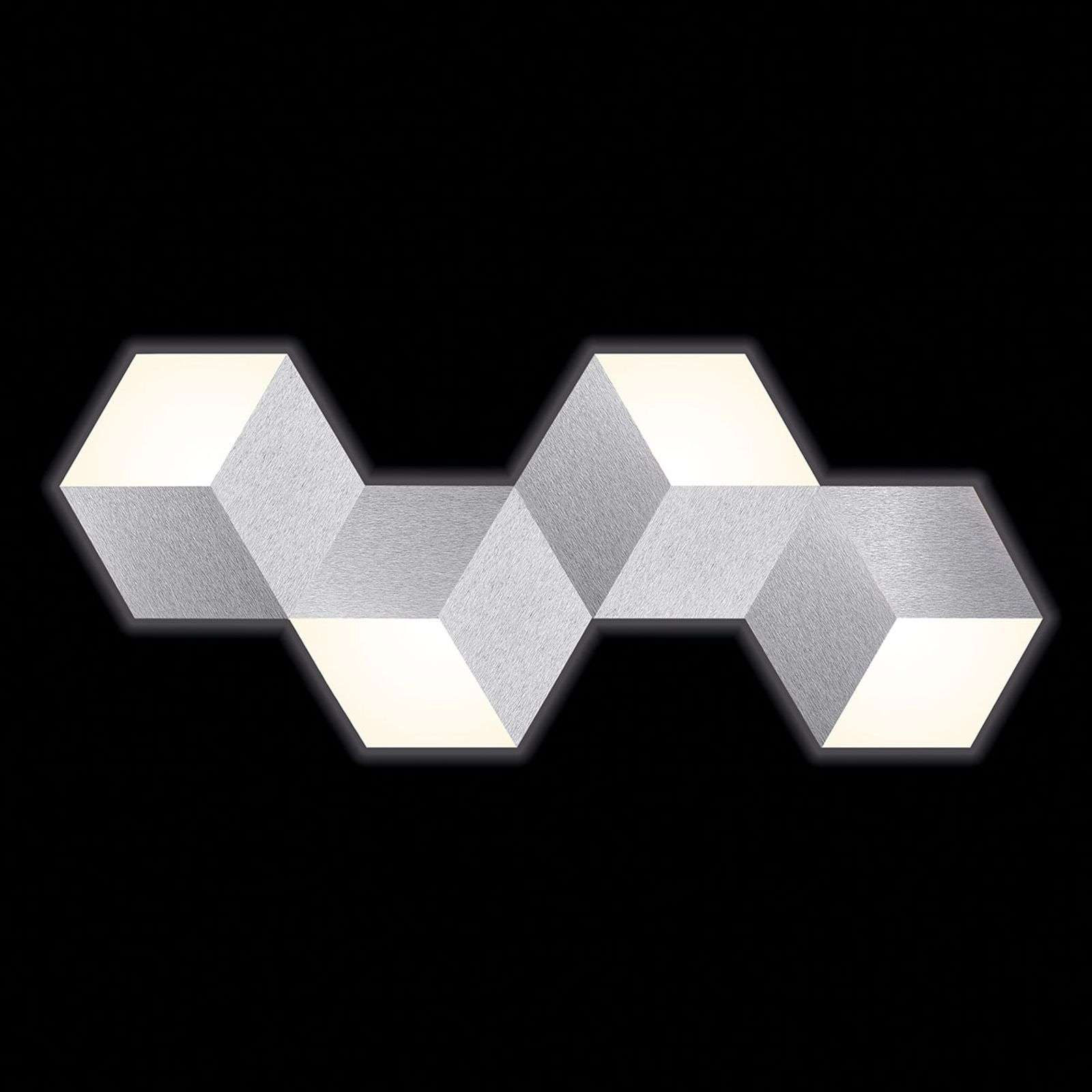 GROSSMANN Geo aplique LED en forma abstracta
