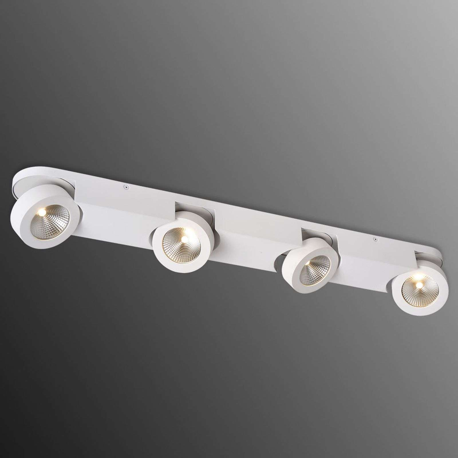Foco LED cuatro luces Mitrax, ajustable