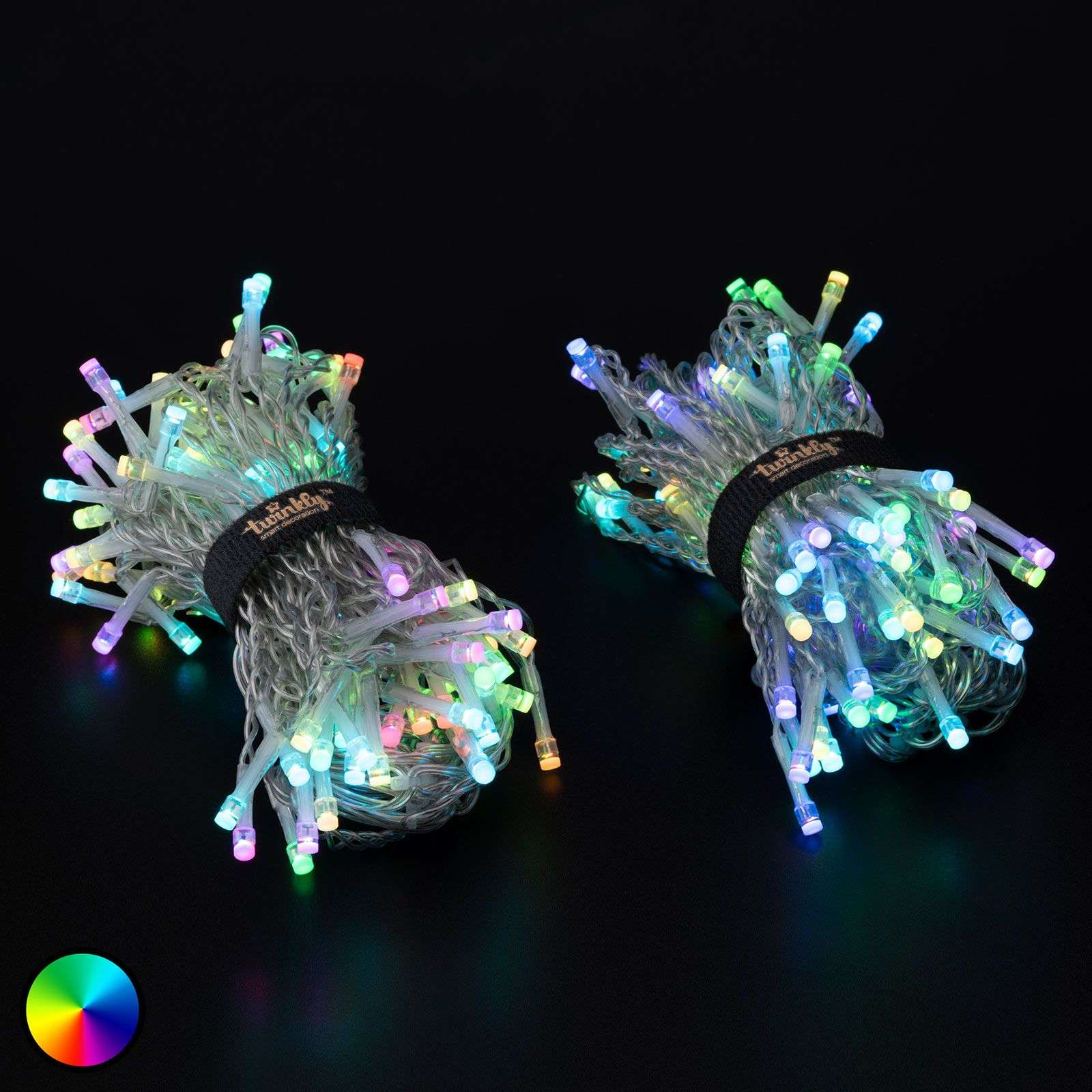 Cortina de luces LED Twinkly para app, RGB