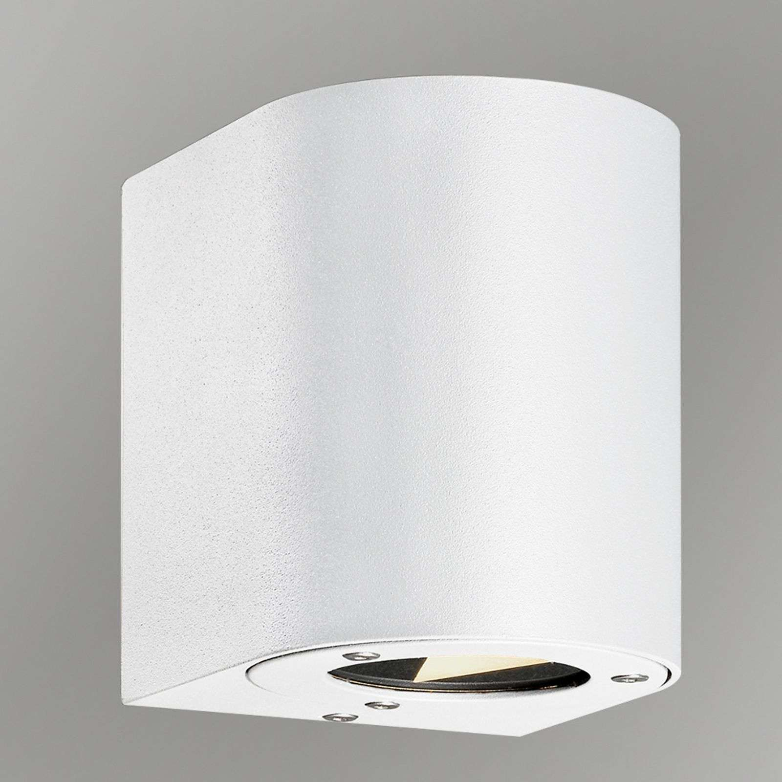 Aplique versátil de pared ext. LED Canto, blanco