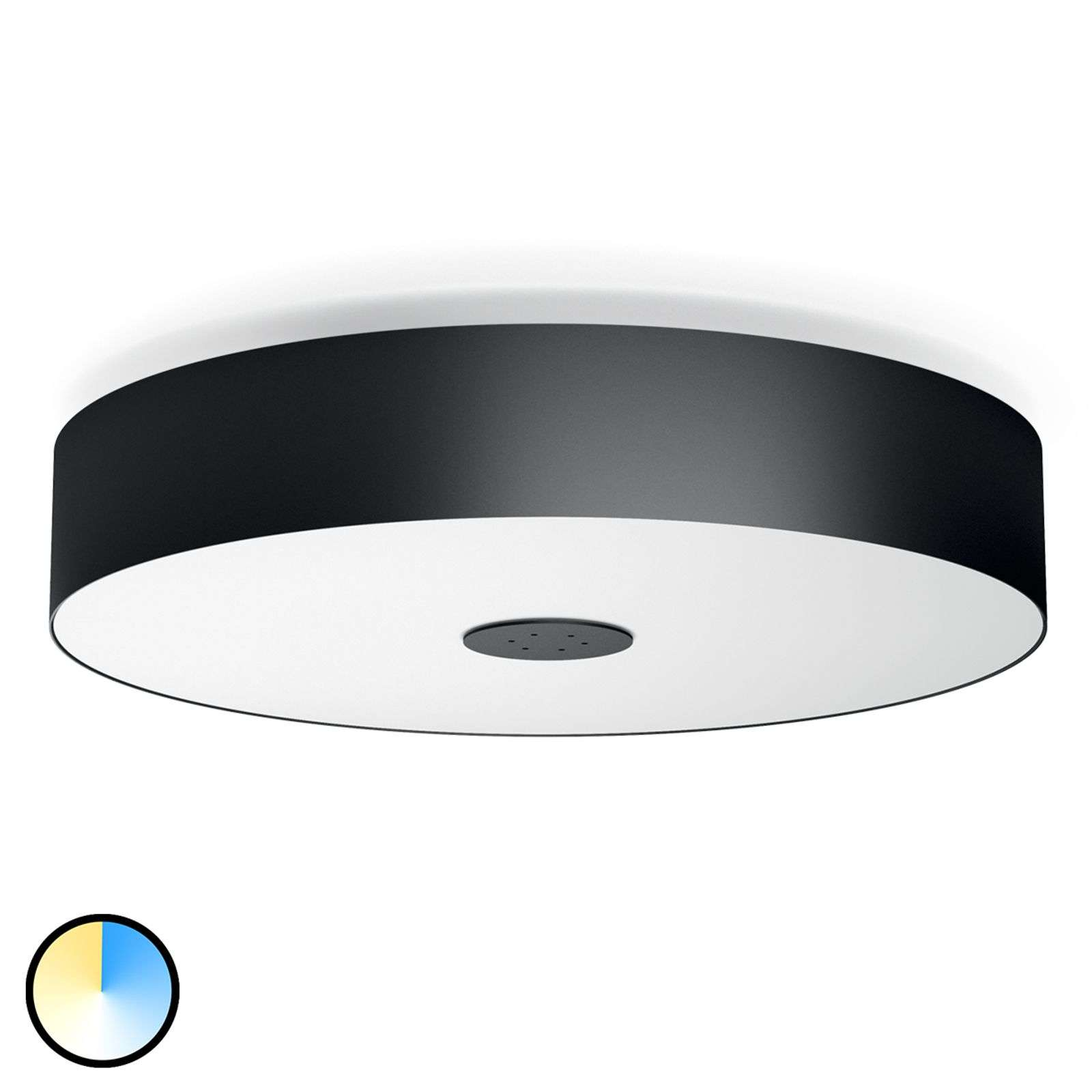 Philips Hue White Ambiance Fair, negro