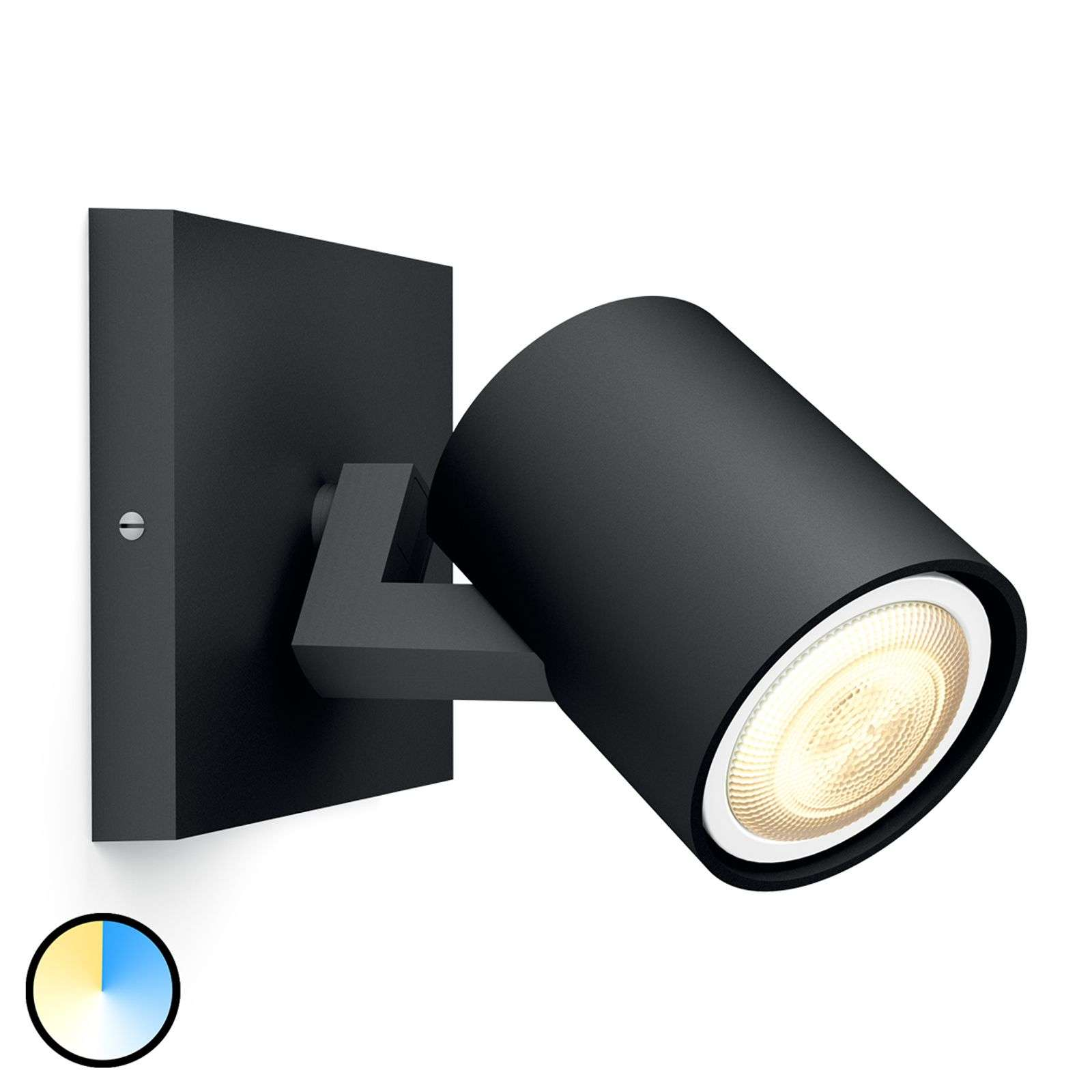 Philips Hue Runner foco con regulador 1 luce negro