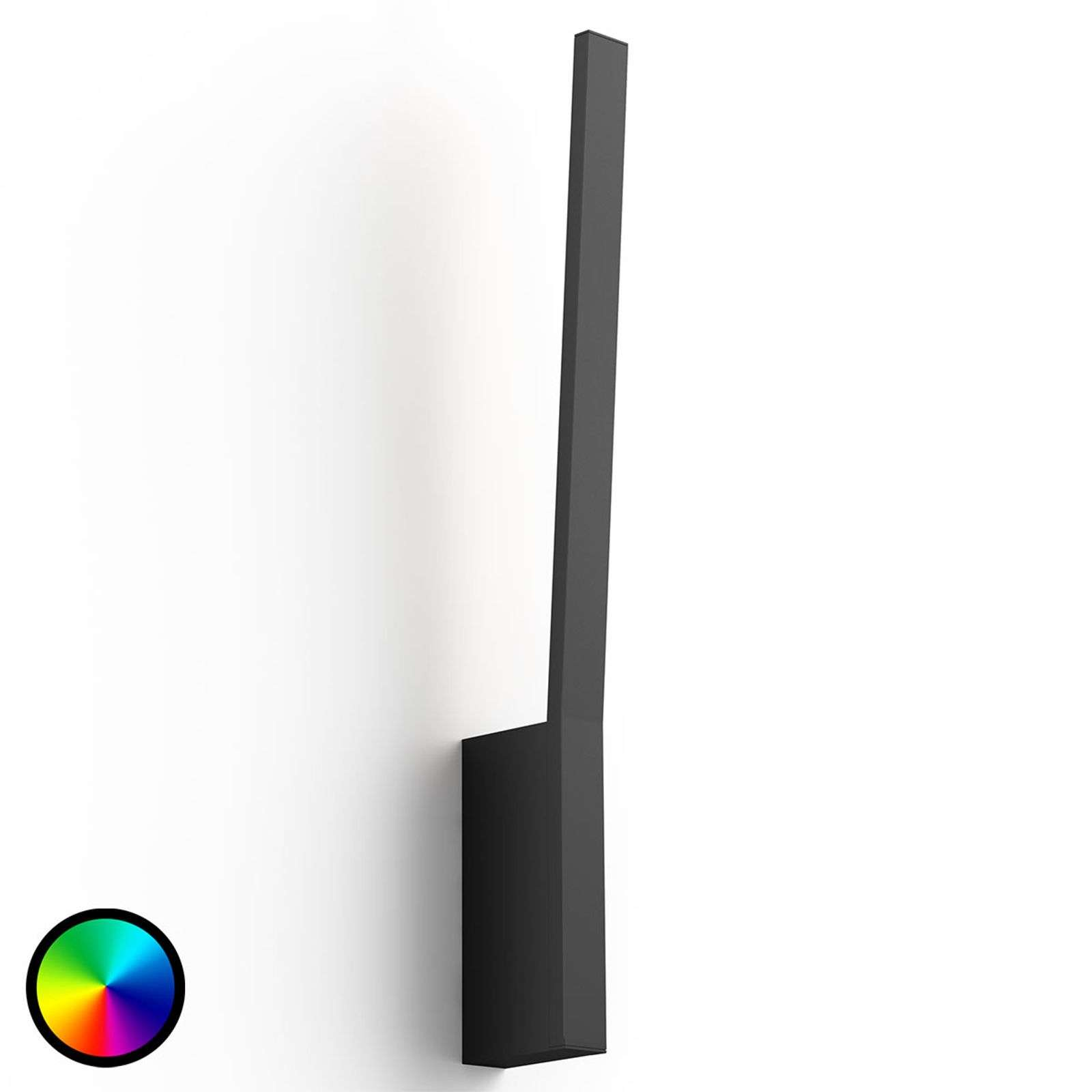 Philips Hue Liane lámpara de pared LED, negro