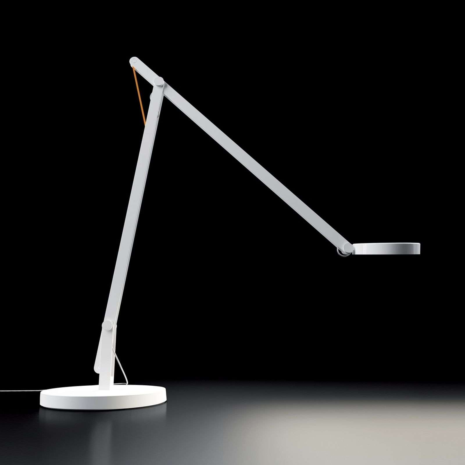 Rotaliana String lámpara de mesa LED, blanca