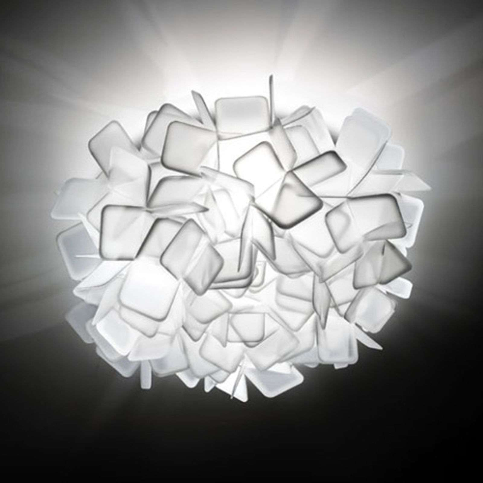 Slamp Clizia - lámpara de pared de diseño, blanco
