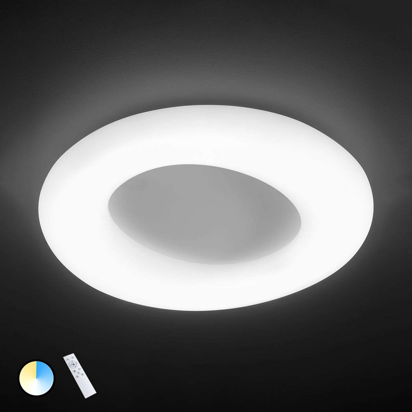 Lámpara LED de techo County ajustable, Ø 75 cm