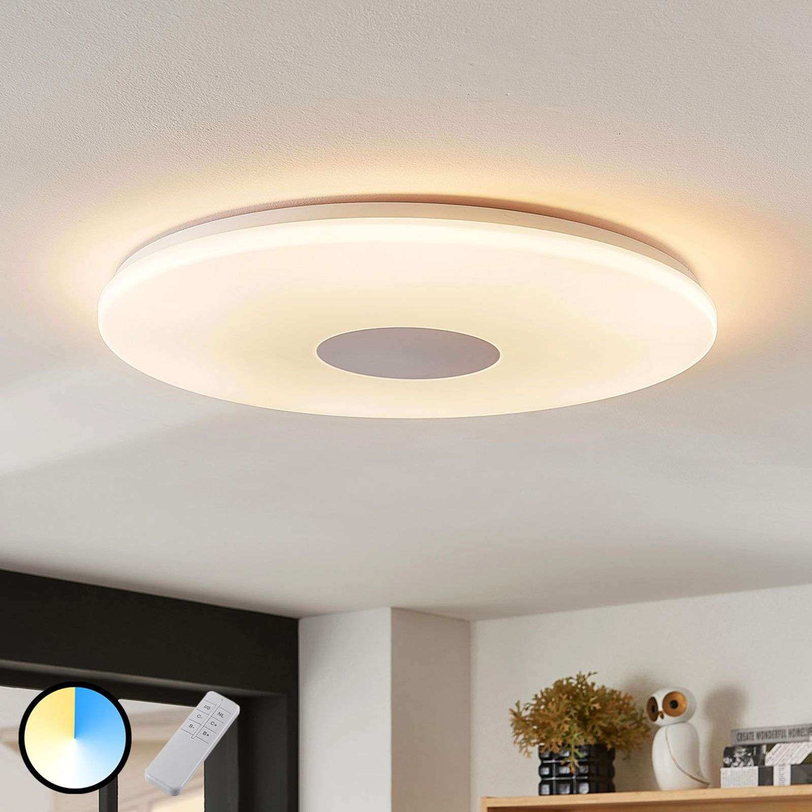 Plafón LED Renee, 35 W